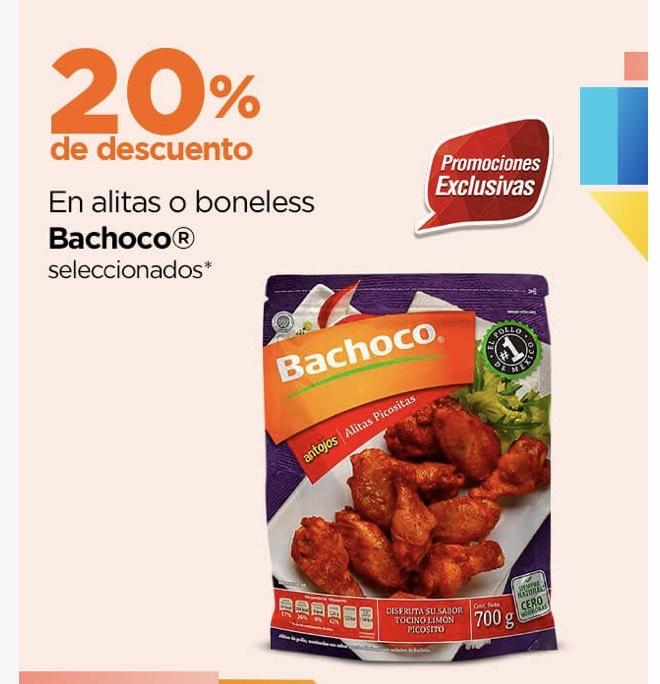 Chedraui: 20% de descuento en alitas o boneless Bachoco