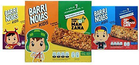 Amazon: Mix Barrinolas KIDS (54 piezas) - Chocolate, Fresa y Manzana