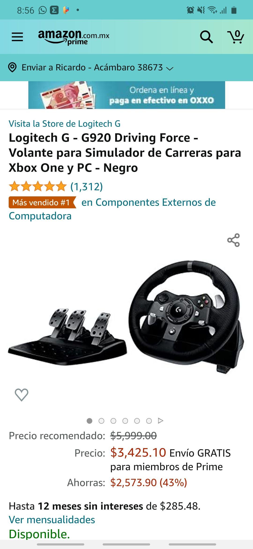 Amazon: Logitech G - G920 Driving Force