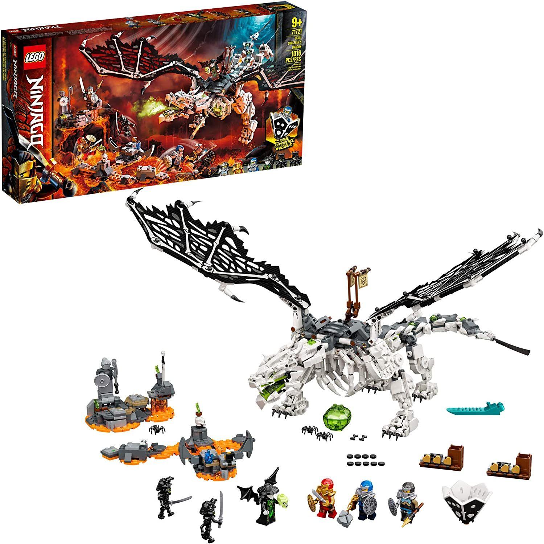 Amazon: LEGO Kit de construcción Ninjago® 71721 Dragón del Brujo de los Muertos (1016 Piezas) (HSBC)