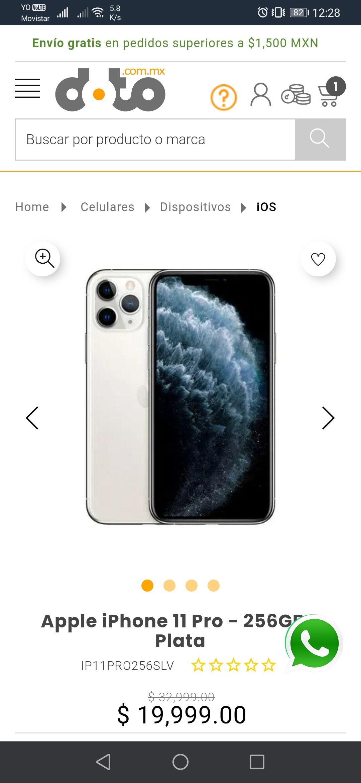 Doto: iPhone 11 Pro 256 GB nuevo