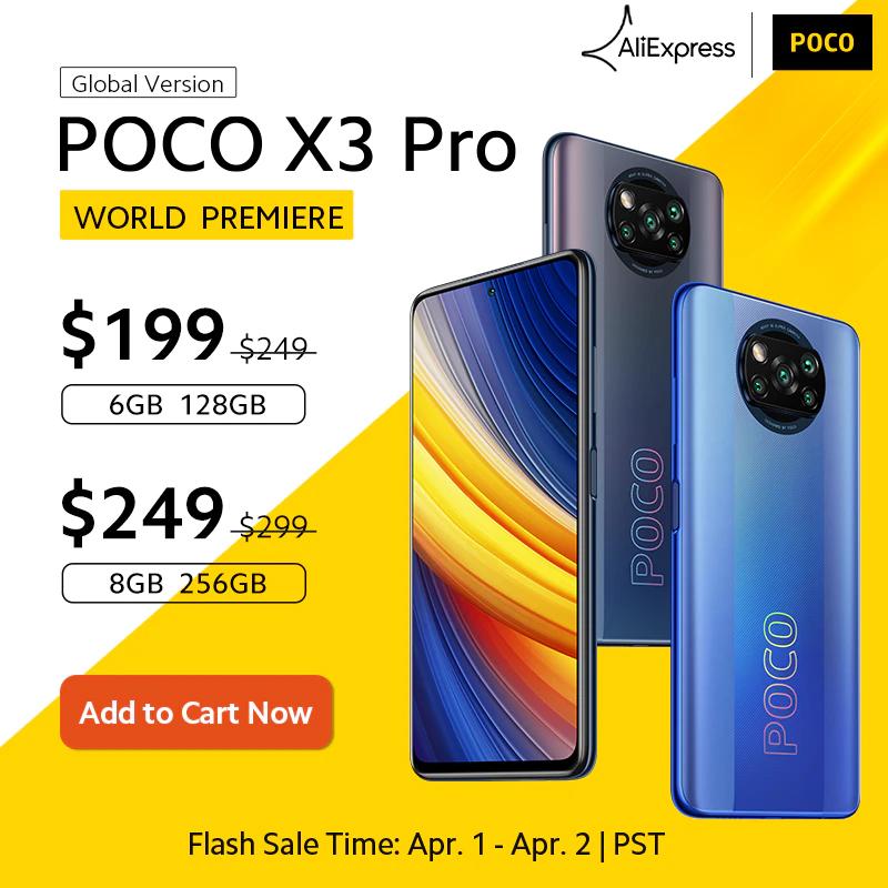 AliExpress: Poco X3 Pro 6GB/128GB SD 860, 120Hz, 33W, Altavoces Stereo (DHL Incluido) [01/04]