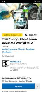 Microsoft Store: Tom Clancy's Ghost Recon Advanced Warfigh