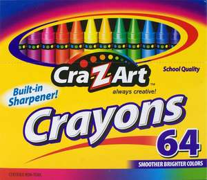 Amazon MX: Crayones Cra-Z-art 64 crayones a $12.70