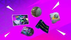 Epic Games: Fortnite x Rocket League | Llama- Rama (Objetos Gratis)