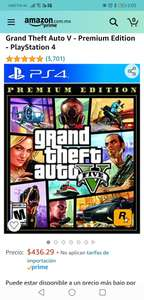 Amazon, Grand Theft Auto V ps4