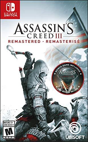 Amazon Assassin's Creed III: Remastered - Nintendo Switch - Ultimate Edition