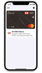 HSBC: Cashback 3% con Apple Pay
