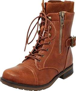 Amazon: Botas de dama Talla 6.5 US = 3.5 MX