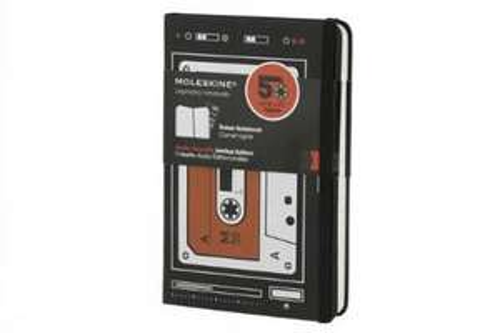Amazon MX: Libreta Moleskine a rayas con diseño de cassette
