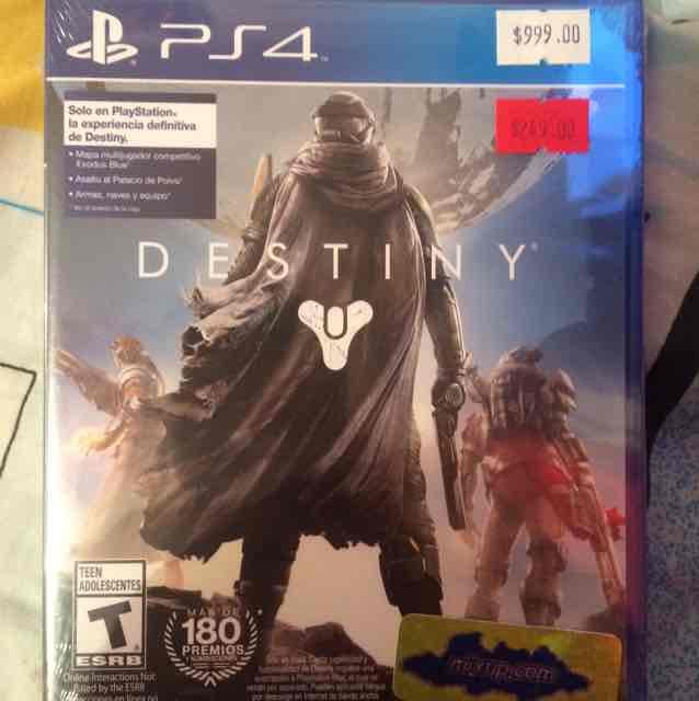 Mixup: Juego Destiny para PS4 a $249