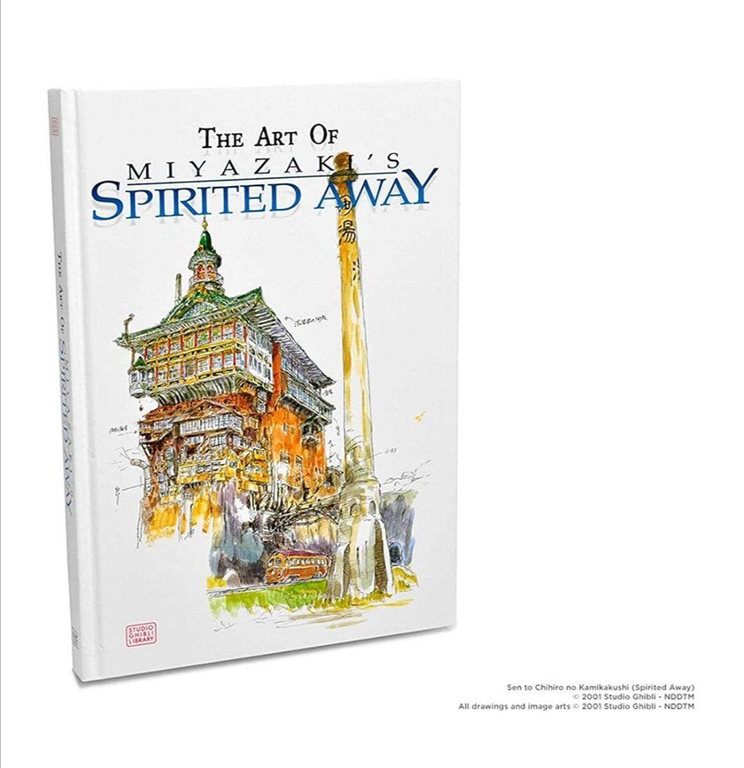 Amazon: Libro de arte oficial de El Viaje de Chihiro