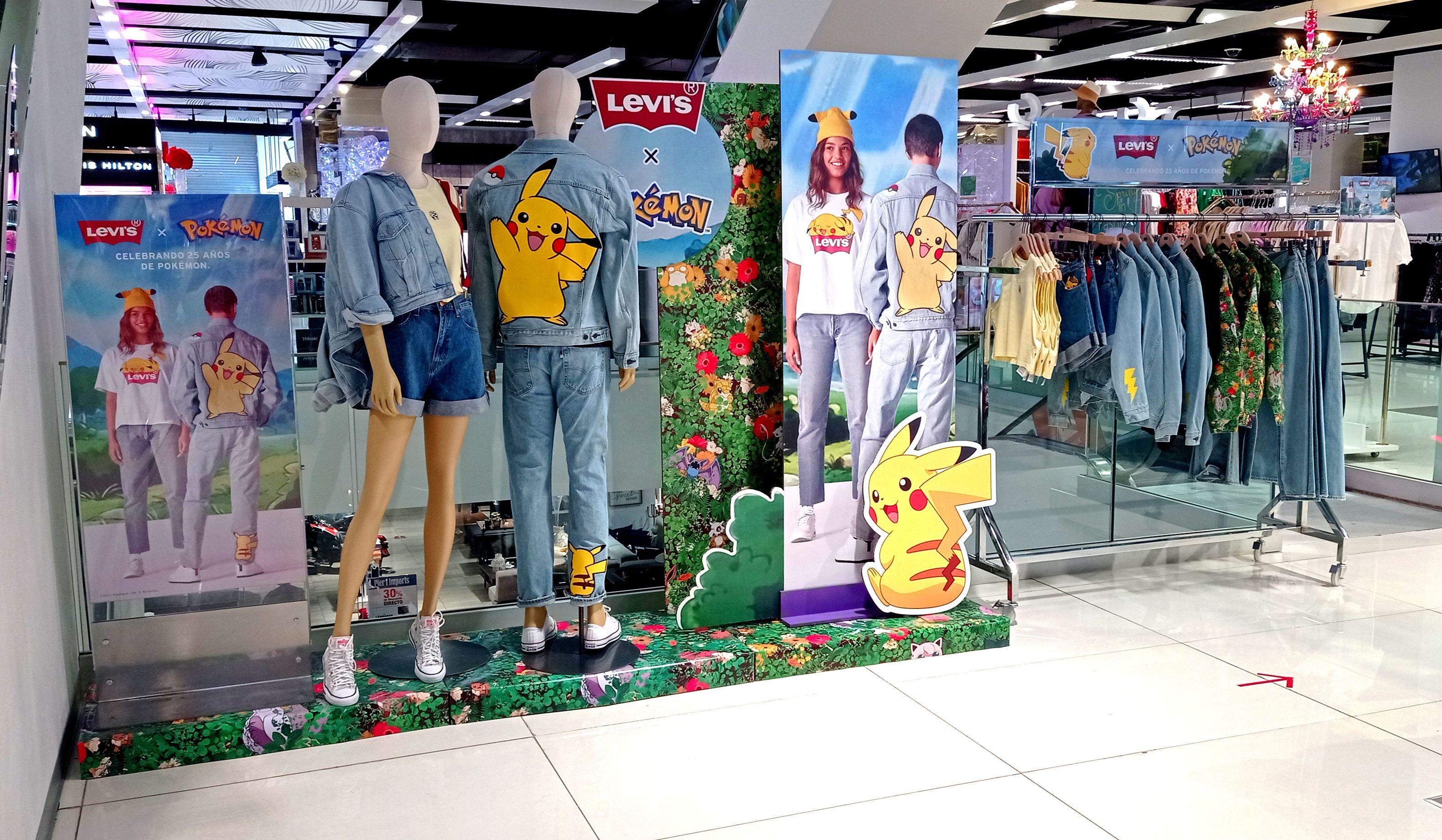 25% de descuento en la colección de Pokémon en Levi's online