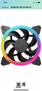 Amazon, ocelot gaming by quaroni Paquete de 3 Ventiladores de 120mm RGB