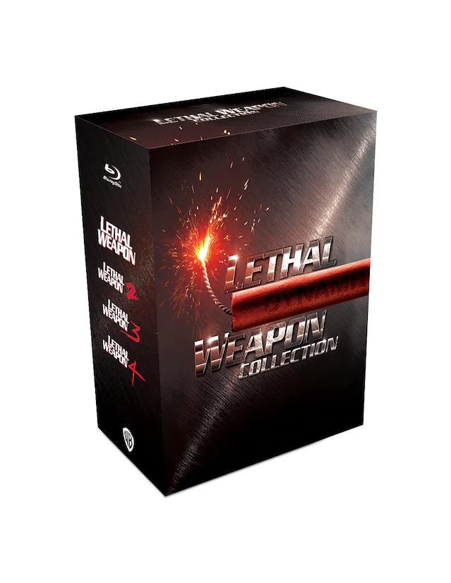 Liverpool: Coleccion Lethal Weapon (Arma Mortal) 1,2,3 y 4 Blu-ray