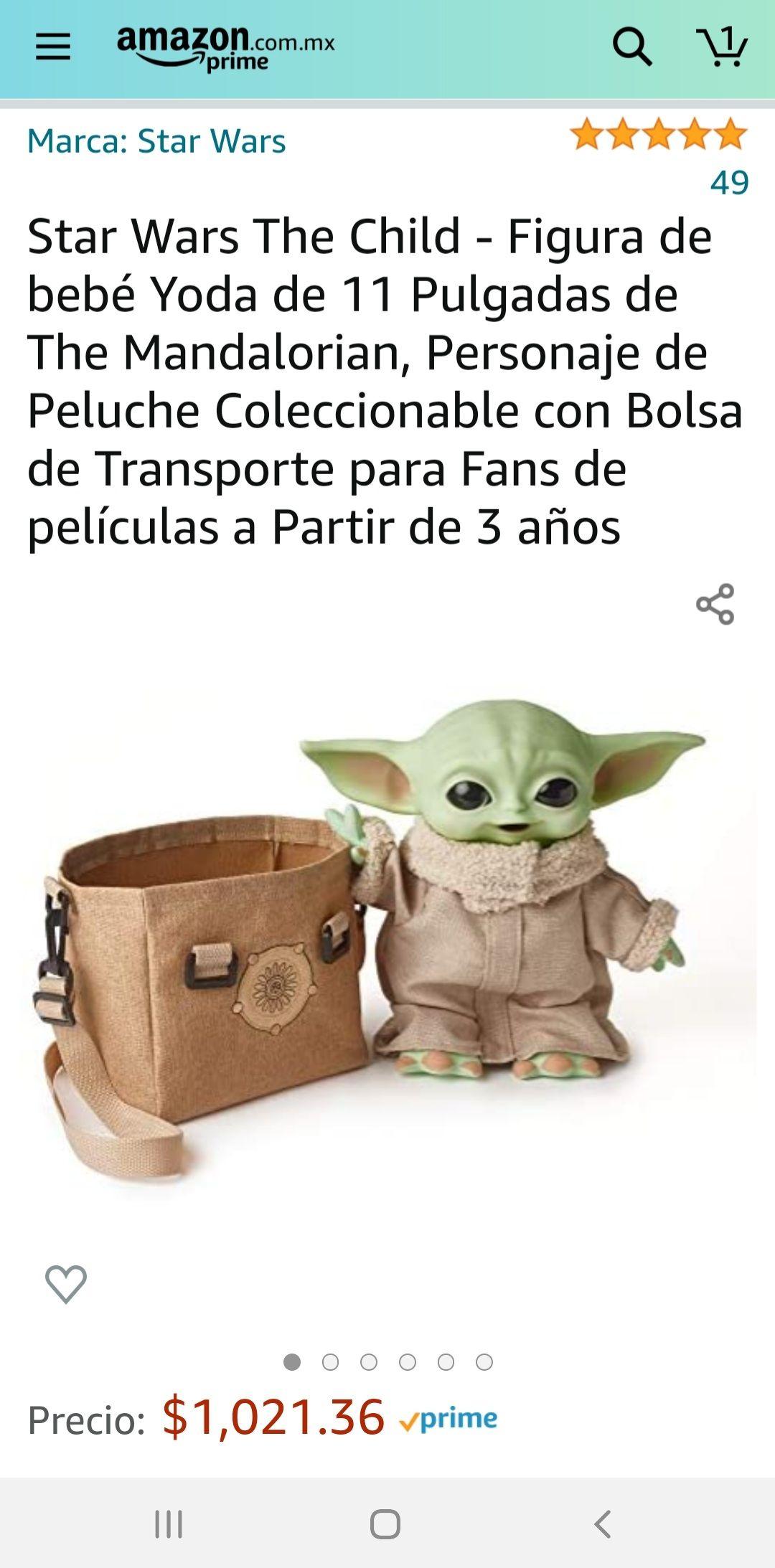 Amazon - Bebé Yoda