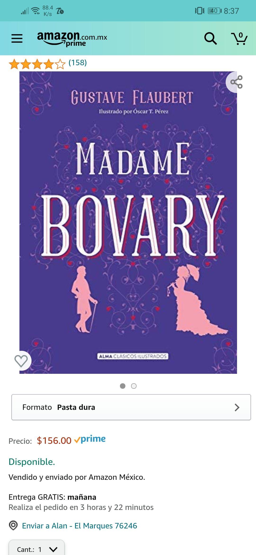 Amazon: Madam Bovary - Pasta dura