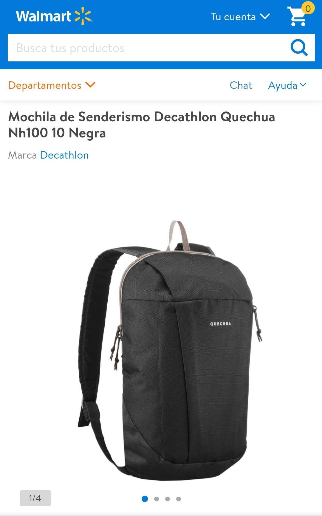 Walmart: Mochila de Senderismo Decathlon Quechua Nh100 10