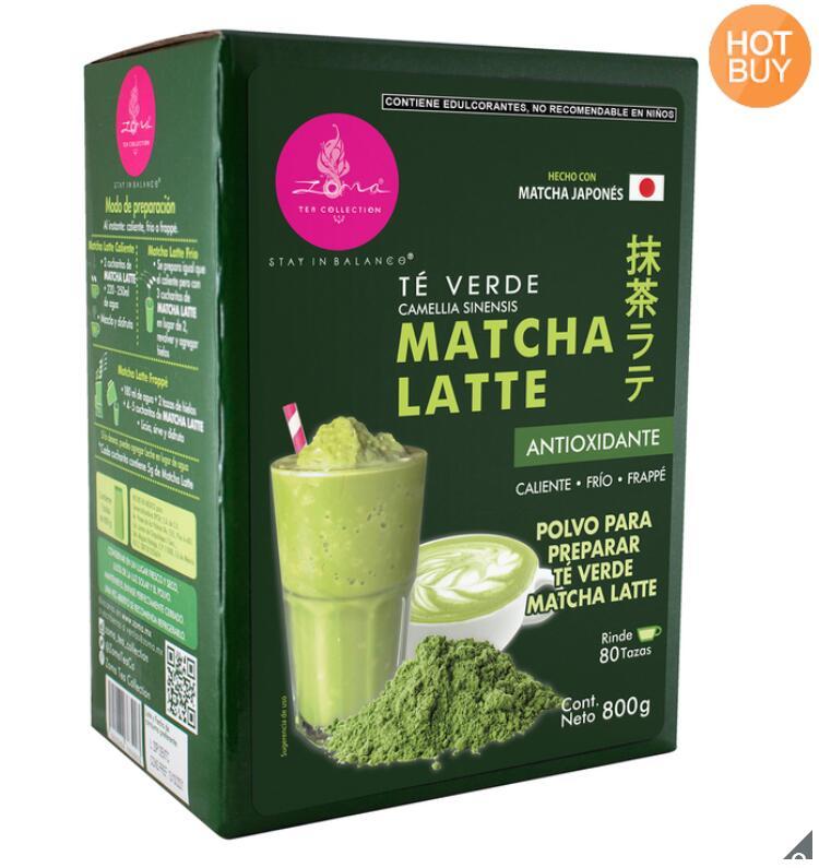 800 g de Té Verde Matcha Latte sin Azúcar Costco
