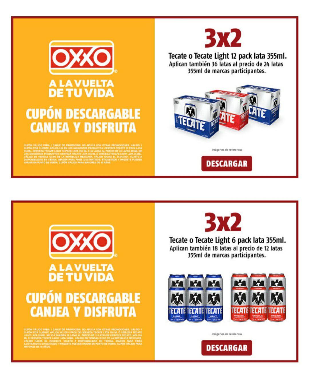 OXXO: 3X2 EN 12PACK, SIXPACK