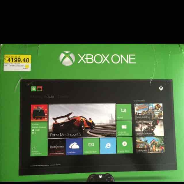 Walmart: consola Xbox One nuevo con FIFA 15 a $4199.40
