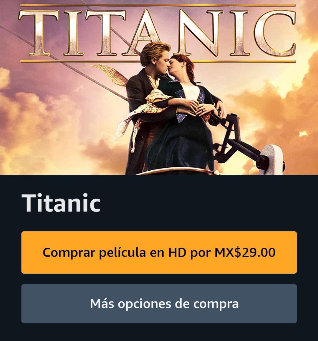 Amazon Prime: Titanic 29 Pesitos