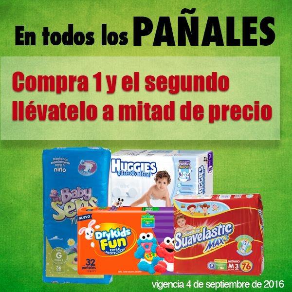 Comercial Mexicana: 2x1 y medio en todos los pañales