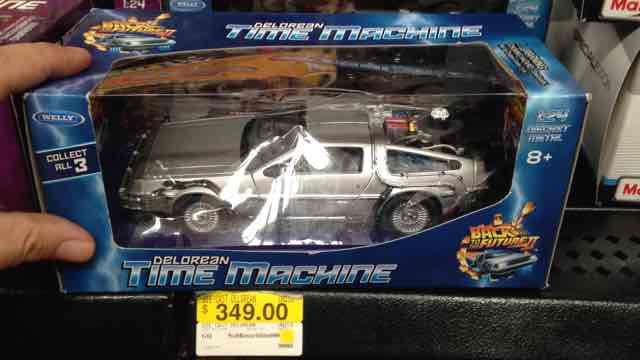 Walmart: DeLorean de Back to the Future 2