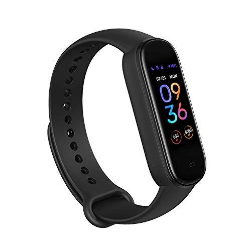 Amazon: Amazfit Band 5 Fitness Tracker con Alexa incorporado, Negro