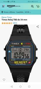 Amazon: Reloj Timex Retro Pac man