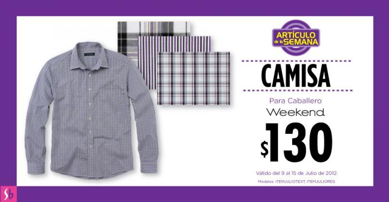 Artículo de la semana en Suburbia: camisa para hombre a $130