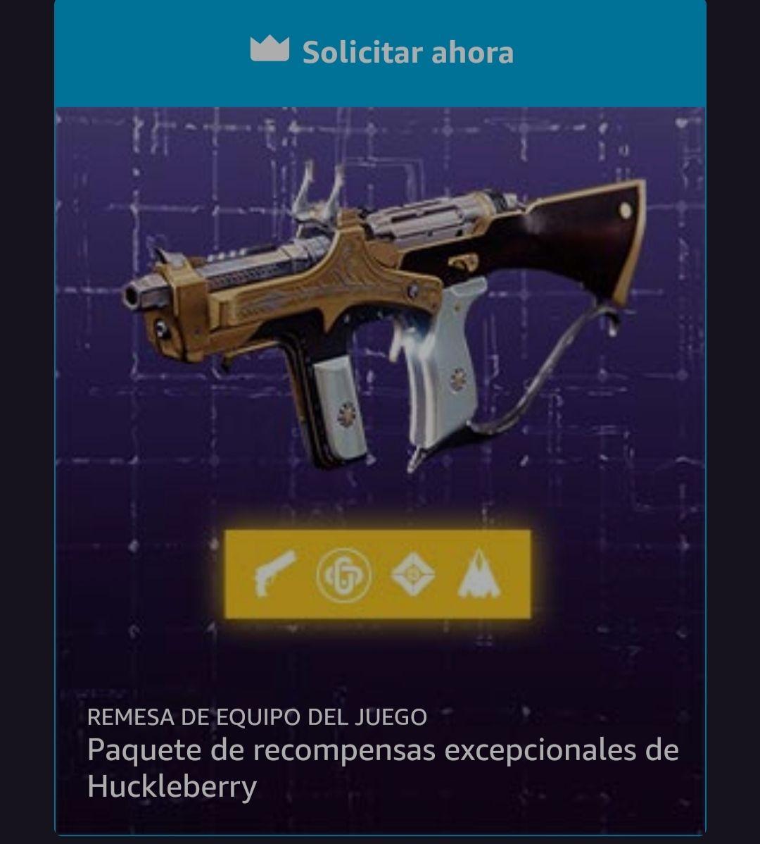 Prime Gaming: Recompensas Destiny 2