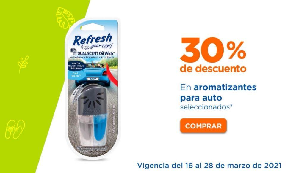 Chedraui: 30% de descuento en aromatizantes para auto marca Refresh y California Scents