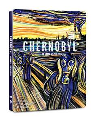Amazon Chernobyl steelbook Blu Ray, 4k y copia digital