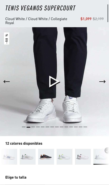 Adidas: Tenis Adidas Supercourt
