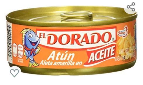 Amazon: Atún El Dorado en Aceite 140g (Precio comprando 10)