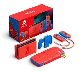 Elektra: Consola Nintendo Switch Mario Red & Blue Special Edition (Mercado pago)