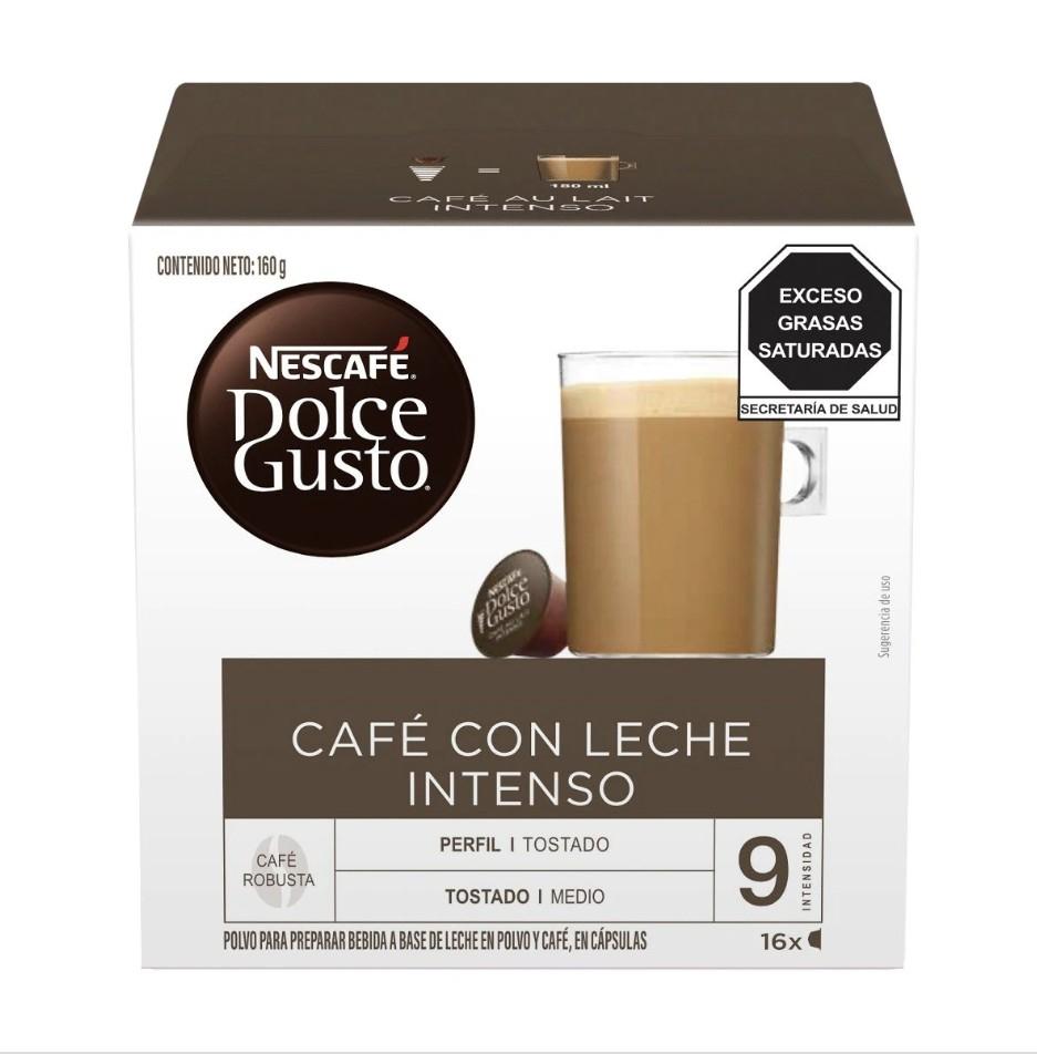 Superama: Dolce Gusto Café con Leche Intenso en liquidación