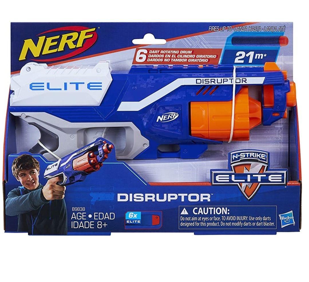 Amazon: Nerf Lanzador Elite Disruptor