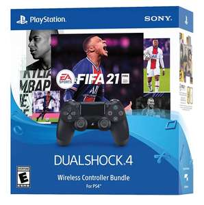 Amazon: SONY PS4 DUALSHOCK 4 CON FIFA 21 DESCARGABLE