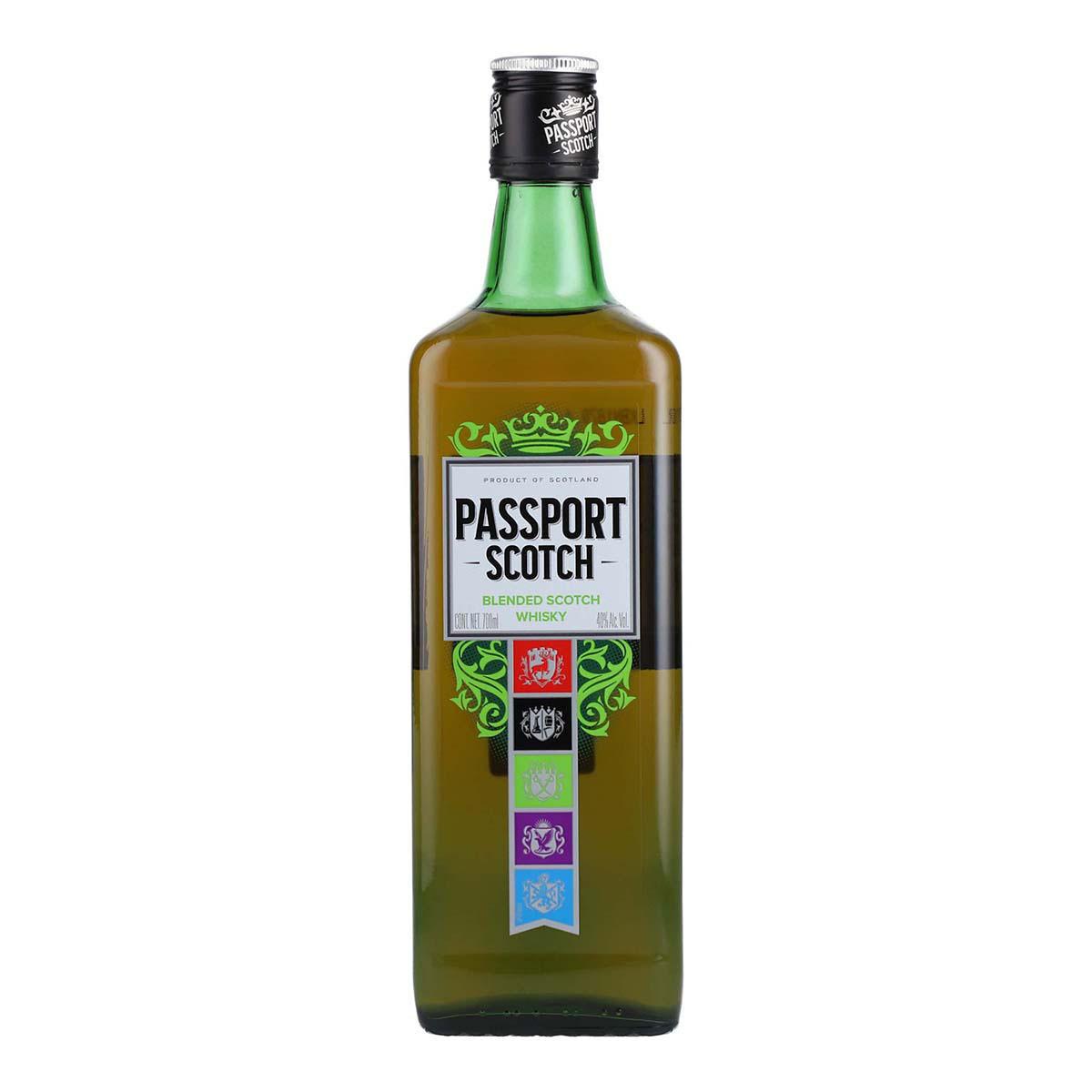 Chedraui, Whisky Passaport Scoth 700ml