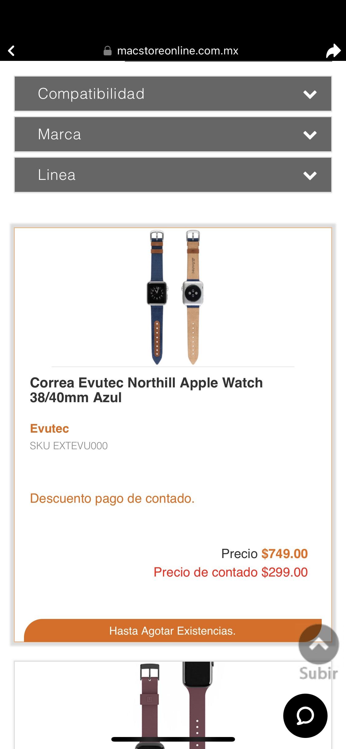 MacStore: Correa para Apple Watch