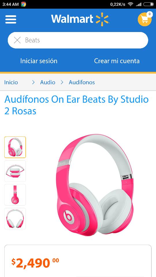 Walmart En Linea: Audífonos Beats Studio V2