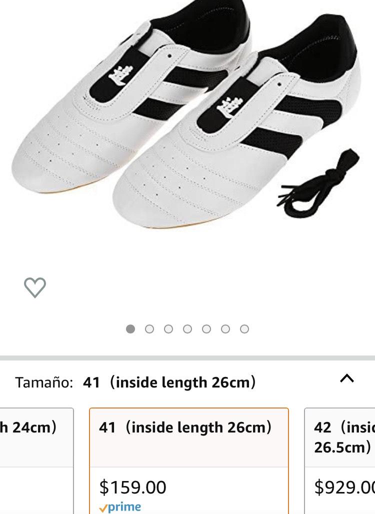 Zapatos de Taekwondo #26