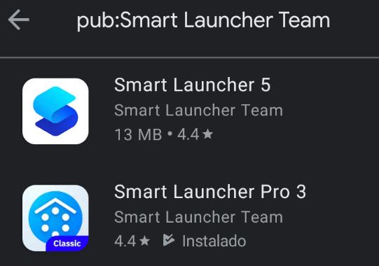 Google Play: 13 Temas para Smart Launcher (probado en v3 y v5)