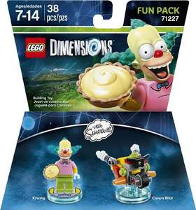 Amazon: Lego Dimensions Fun Pack de Bart o Krusty
