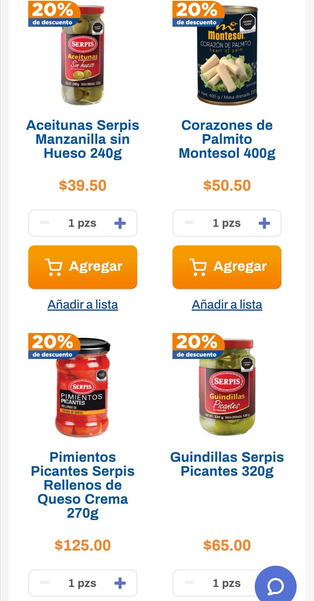 Chedraui: 20% de descuento en productos Serpis, San Lázaro y Vigilante