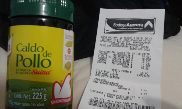 Bodega Aurrerá: Knorr caldo de pollo frasco de 225 gms $10.00