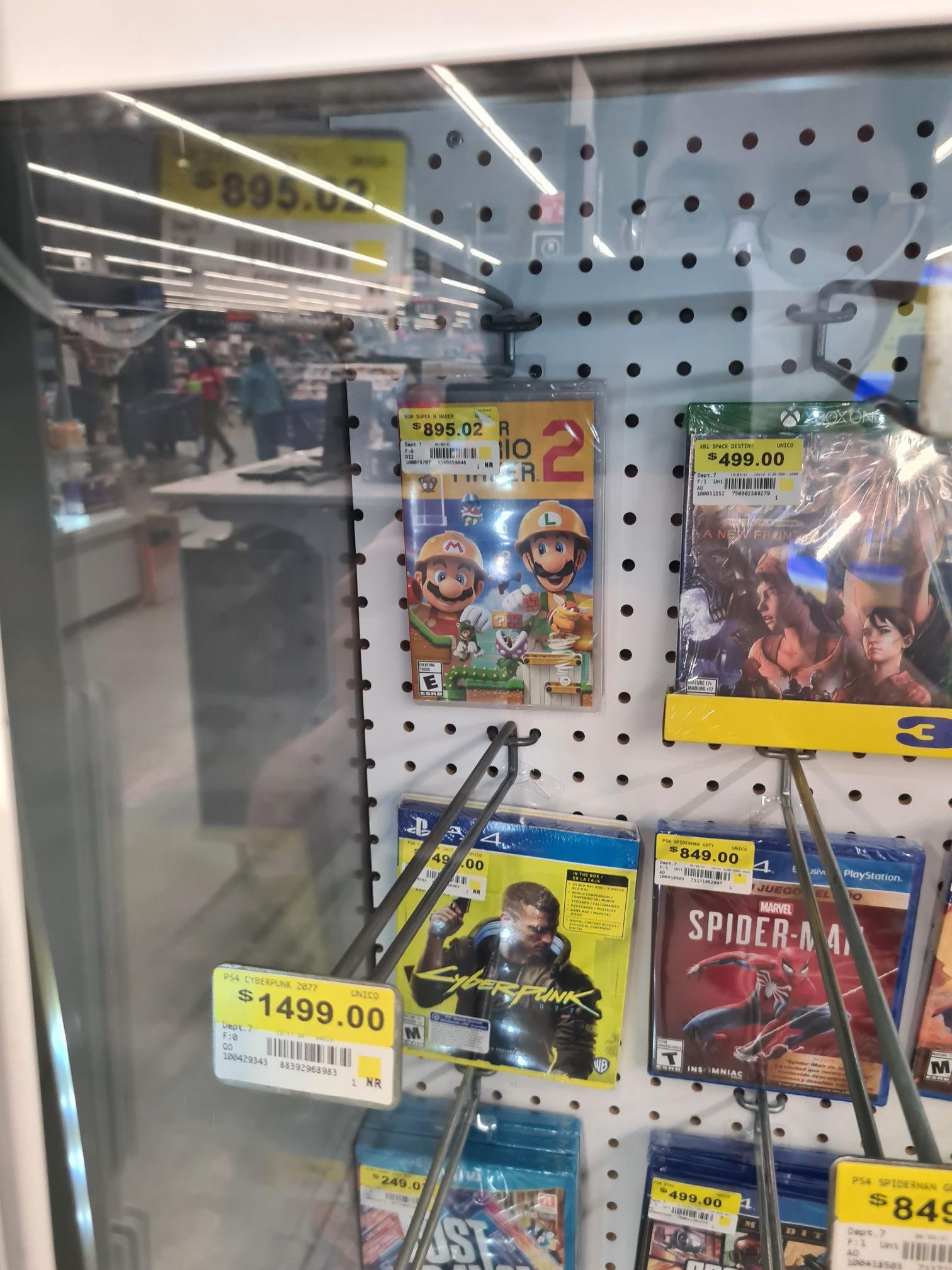 Walmart_ Mario maker 2 para switch