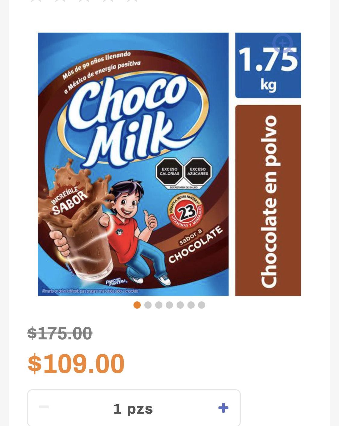 Chedraui: Chocomilk 1.75 Kg Chocolate en polvo